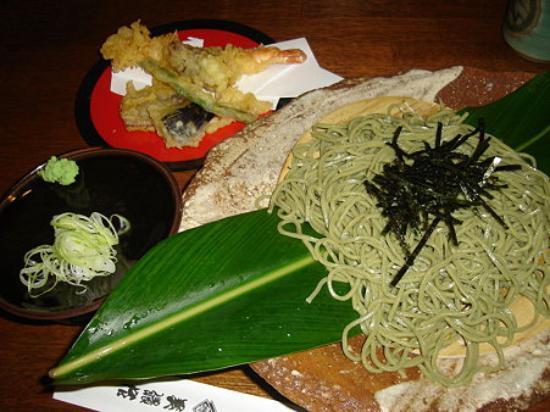 Soba noodle with shell ginger flavor, Naha, Okinawa Pref., Japan