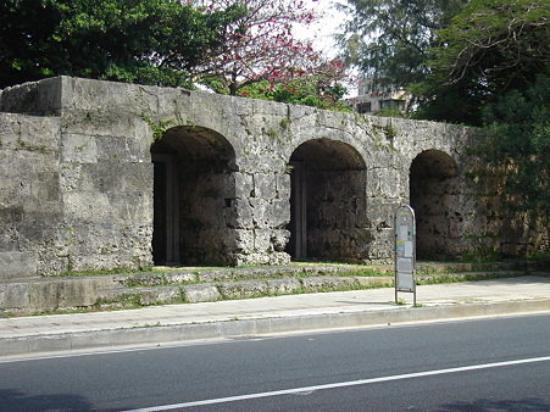 Main gate of Sogenji Temple, Naha, Okinawa Pref., Japan