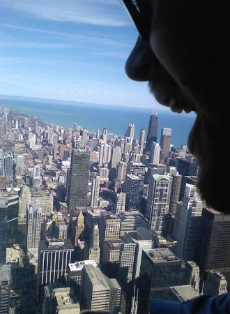 Skydeck Chicago - Willis Tower: Still on the Willis Tower
