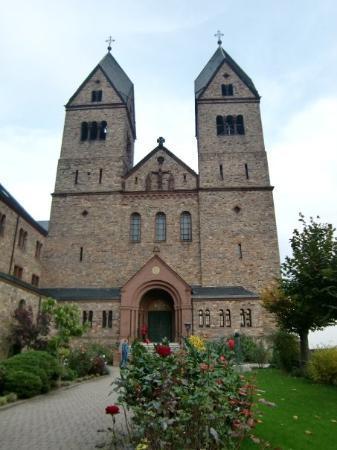 Ruedesheim am Rhein, Tyskland: 31.10 Abtei St. Hildegard (Rüdesheim)