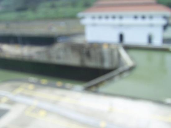 Bilde fra Panamakanalen