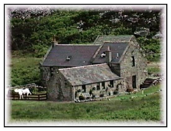 Wick, UK: stonefarm, Scotland.