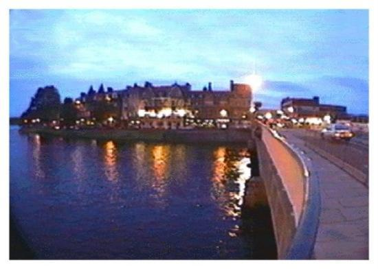 Hotels along the river, Inverness, Scotland.