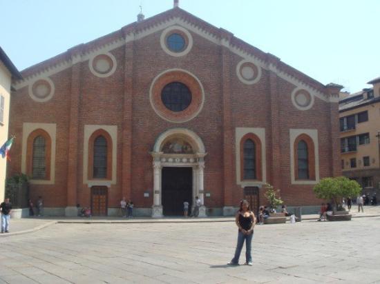 Santa Maria Delle Grazie   (church with the original Last Supper painting in it)