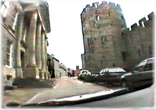 Machynlleth, UK: Caernarfon Castle, Wales.