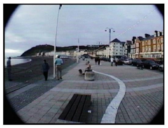Machynlleth, UK: Aberystwyth---the Welsh Riviera, lol.