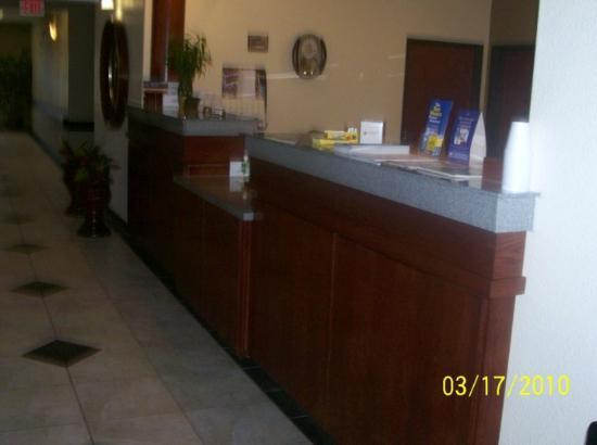 Best Western Palace Inn & Suites: The Front Counter of The Best Western Palace Inn in Big Spring, TX