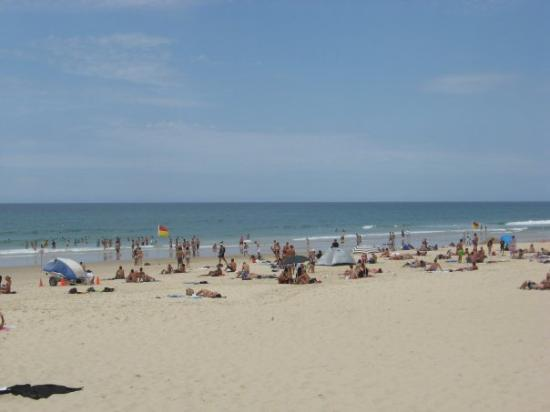 """Surfer's Paradise Beach: """"Swim Between the Flags"""".... I managed to loose my sun glasses in the surf!"""