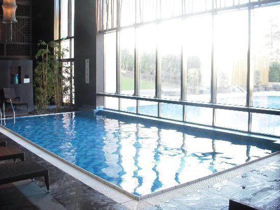 Hilton Evian-les-Bains: piscine, bassin intérieur