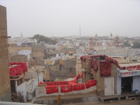 Vinayak Guest House: View of Bikaner.