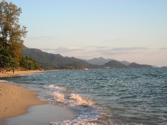 White Sand Beach Resort: North White Sand Beach where the resort is located.