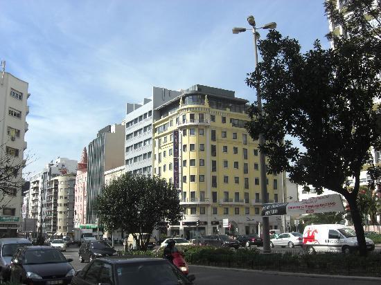 America Diamonds Hotel: Esterno dell'hotel