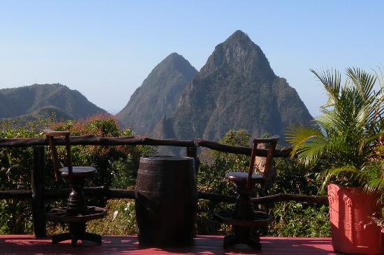 Crystals St Lucia: a view worth coming back to