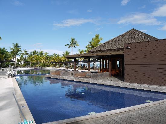 Hilton Fiji Beach Resort & Spa: プールも手入れが行き届いてます