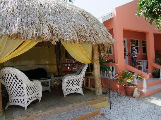 Villa Punta Salina: palapa