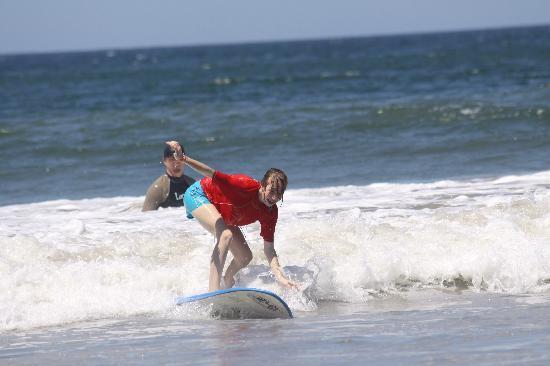 Point Break Surf School: She's got it