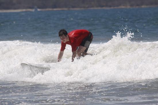 Point Break Surf School: Great waves
