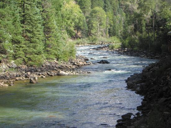 Durango and Silverton Narrow Gauge Railroad and Museum: Crystal Clear Tumbling Stream