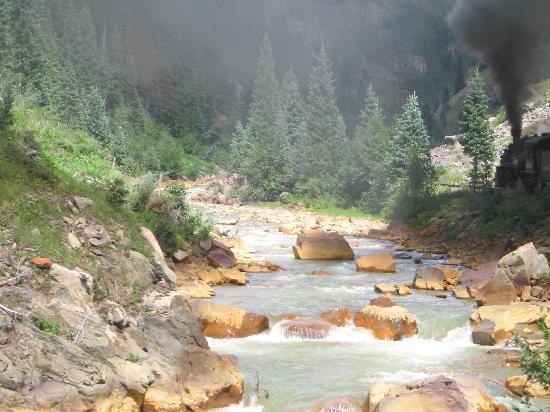 Durango and Silverton Narrow Gauge Railroad and Museum: Beautiful Scenery