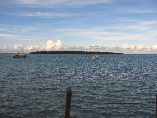 Preskil Beach Resort: View from Prestige Cottage