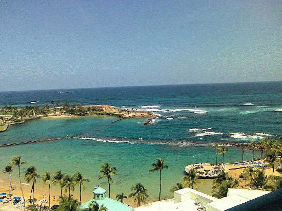 Caribe Hilton San Juan: view from our room