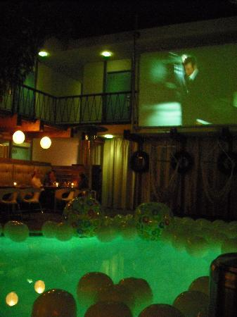 The Pearl Hotel: French films and poolside dining for Bistro Monday