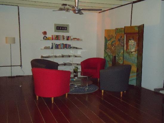 Number Twenty Guest House: living area