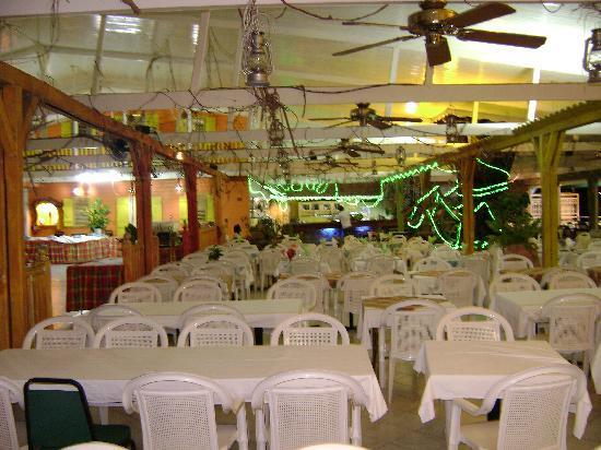 Hotel Bambou: Salle du restaurant