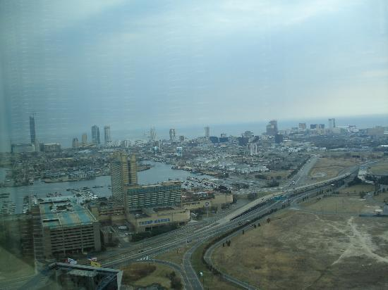 Harrah's Resort Atlantic City: View from 41st floor Waterfront Tower
