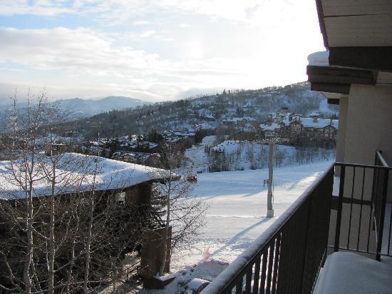 سنوماس ماونتن شاليه: View off our balcony