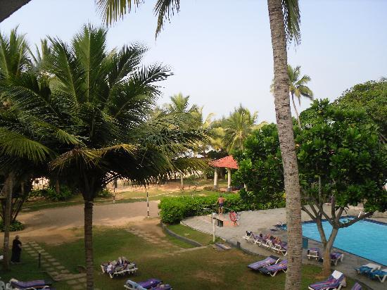Club Palm Garden: View from our balcony