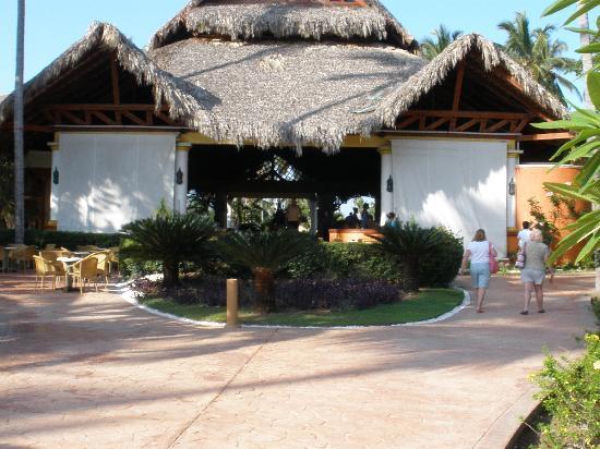 VIK Hotel Cayena Beach: Main entrance to the resort