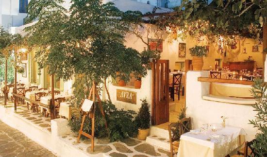 Avra Restaurant - Garden : Original Avra 1998-2011
