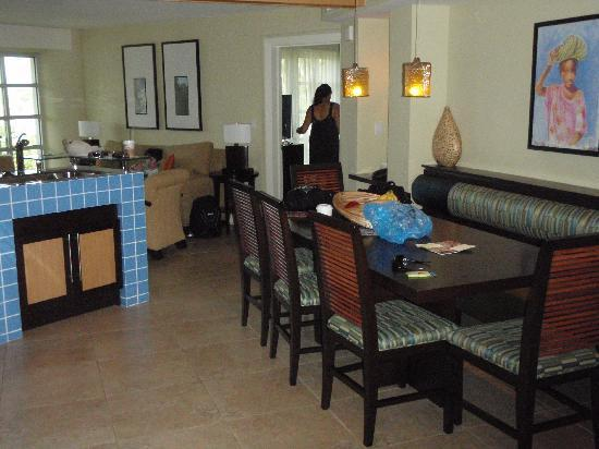 The Westin St. John Resort Villas: Kitchen (villa 2731) (3/2010)