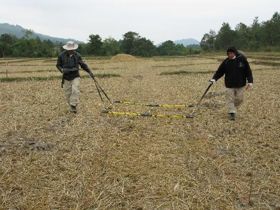 "Uxo Lao: Initial detection ""machine"""