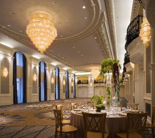 The Westin Book Cadillac Detroit: The Venetian Ballroom