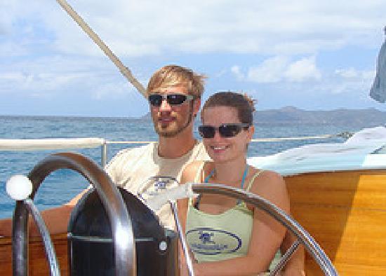 Ike Witt Charters: Capt Adam & Denise
