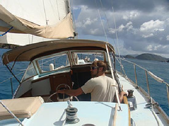 Ike Witt Charters: Sailing Away