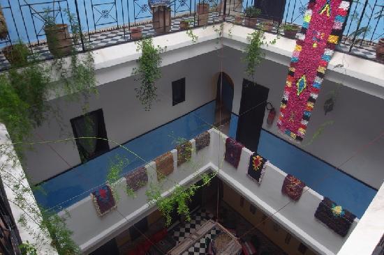 Riad Sidi Magdoul: Vue sur les étages