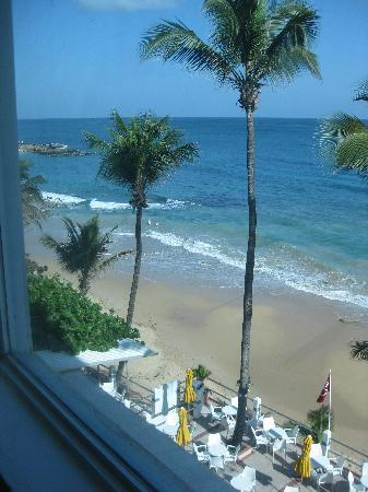 Atlantic Beach Hotel: View out our Window