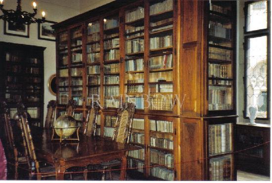 Krivoklat, library
