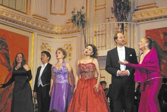 Strauss Concert Hofburg Palace: Opera Singers