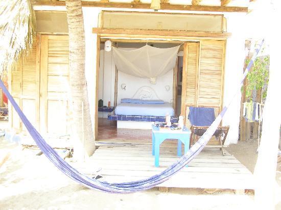 Bambu Ecocabanas: Our Room.