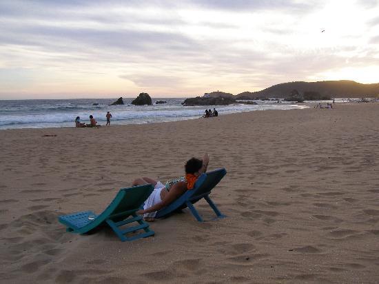 Bambu Ecocabanas: The Beach!
