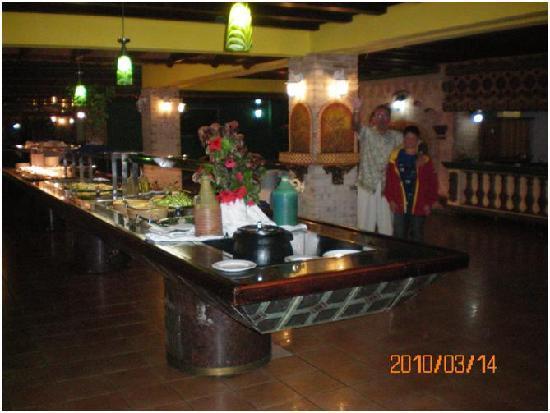 Hotel Roc Santa Lucia (Ex Gran Club): Buffet