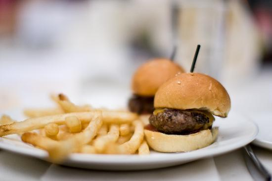 Shade Hotel: I ordered sliders for the kids (delish!)