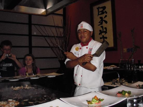 Luxury Bahia Principe Akumal: japanese dinner