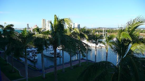 El Cid Marina Beach Hotel: Typical top-floor view, mid-resort