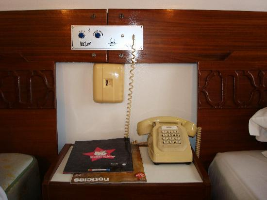 Hotel do Parque: The bedside table