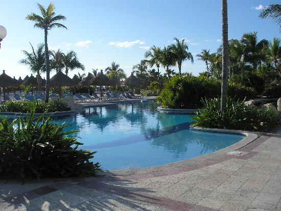 Grand Bahia Principe Coba: One of the pools (Akumal)